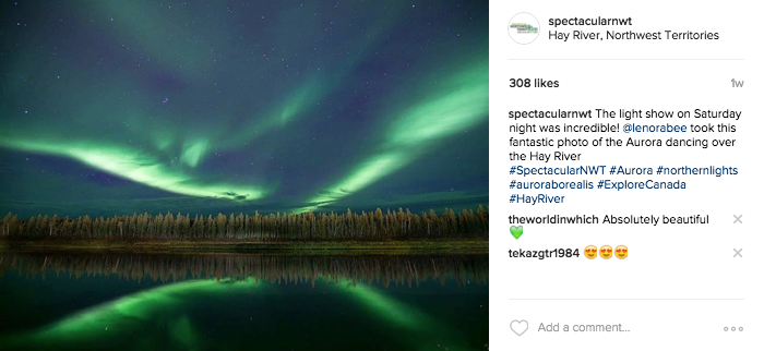 One of the many beautiful SpectacularNWT UGC images from our Instagram feed